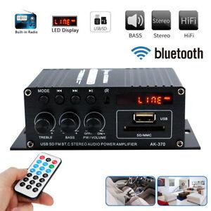 HiFi-Bluetooth-Power-Amplifier-Radio-Audio-Stereo-FM-Home-Karaoke-Music-Receiver