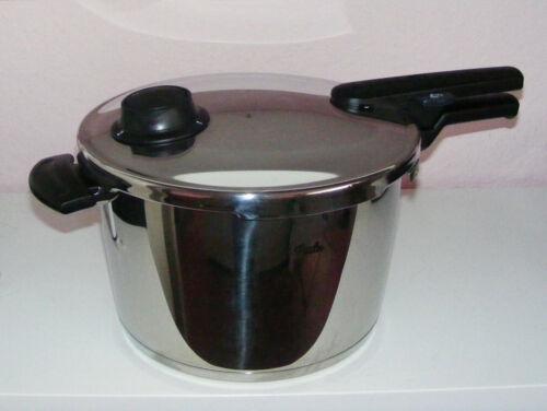 Neuwertig 8,0 Liter VITAVIT® Comfort Schnellkochtopf aus Edelstahl
