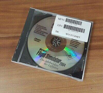 Ingegnoso Microsoft Flight Simlator 2004 Simulatore Di Volo Nuovo Medion 2002 1111 Vintage Top!- Perfetto Nella Lavorazione