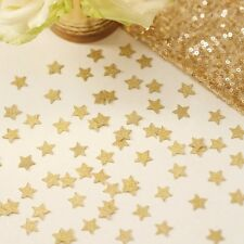 GOLD GLITTER STAR CONFETTI - Weddings - Christmas - Party - Hen - Baby Shower