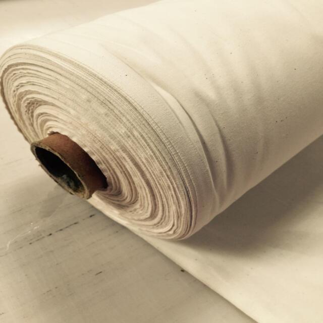 "FIRE RETARDANT 100% Natural Cotton CALICO medium weight craft fabric 54"""