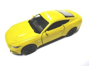 Ford-Mustang-GT-deportivo-maqueta-de-coche-metal-DIECAST-11-CM-Welly-Nex-Model