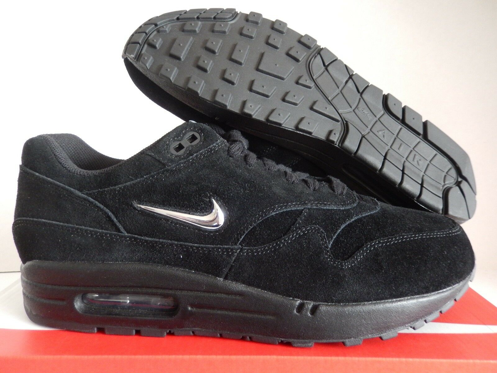 NIKE AIR MAX 1 PREMIUM SC BLACK-SILVER Price reduction Comfortable and good-looking