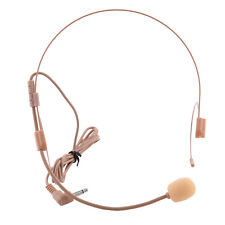 3.5mm Wired Head Headset Microphone Conference Teach Speaker For Voice Amplifier