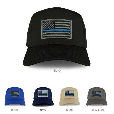 Black FLEXFIT 5 Panel American Flag Patched Snapback Mesh Cap