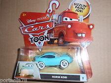 Disney Pixar Cars Toon RESCUE SQUAD MATER Nurse Kori