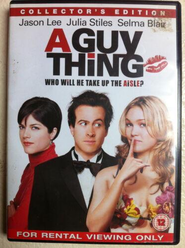 1 of 1 - Jason Lee Julia Stiles Selma Blair A GUY THING ~ 2003 Romantic Comedy | UK DVD