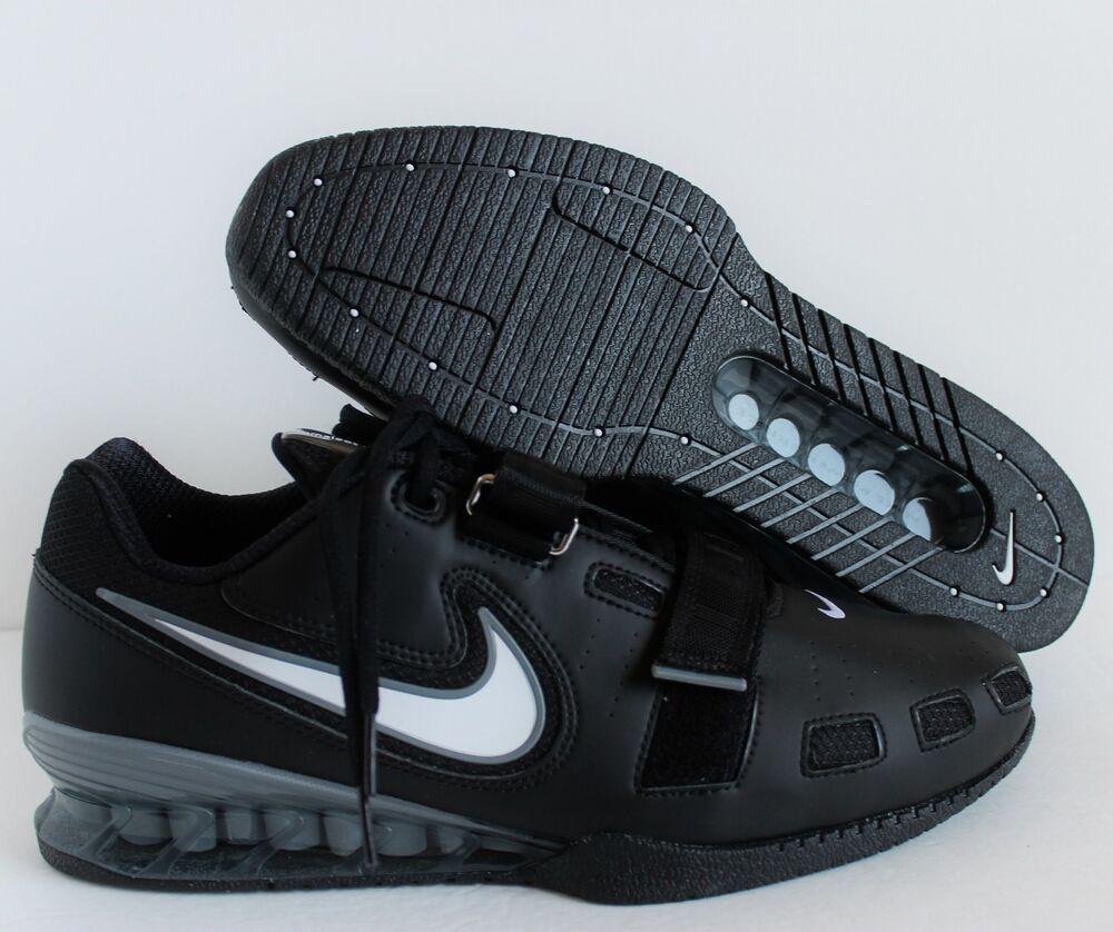 NIKE ROMALEOS 2 Noir- blanc -GREY WEIGHTLIFTING Chaussures  Chaussures de sport pour hommes et femmes