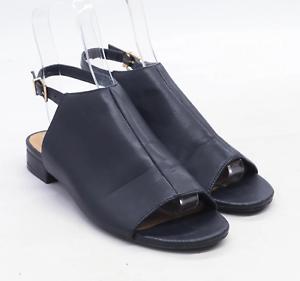 Marks-amp-Spencer-Womens-UK-Size-6-Black-Sandals