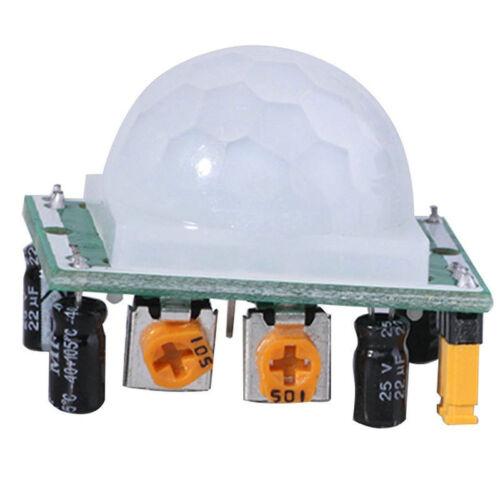 5X HC-SR501 IR Pyroelektrisches Infrarot-IR-PIR-Bewegungsmelder-Detektormodul
