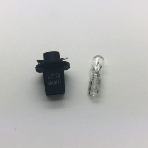 10 x 286 Car Dashboard PCB Instrument Panel Bulb /& Holder 286T T5 12v 1.2w B8.5D