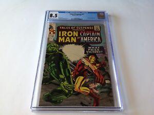 TALES-OF-SUSPENSE-71-CGC-8-5-CAPTAIN-AMERICA-IRON-MAN-TITANIUM-MAN-MARVEL-COMICS