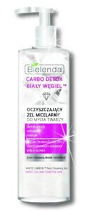 BIELENDA-WHITE-CARBON-DETOX-micellar-gel-diamond-powder-clay