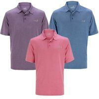 Woodworm Golf Solid Heather Mens Golf Polo Shirts 3 Pack