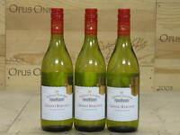 3--bottles 2012 Chateau Tanunda Grand Barossa Chardonnay--free Shipping