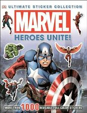 Ultimate Sticker Collections: Heroes Unite! by Dorling Kindersley Publishing Staff (2014, Paperback)
