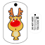Geocaching  Unactivated Rudolph the Red Nosed Reindeer Travel Bug