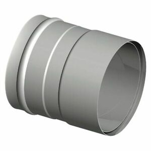 Single-Walled Exhaust System Wandfutter-übergang 150 MM Rauch- Pipe (2,0mm) On