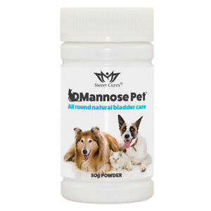 DMannose-Pet-Natural-Bladder-Health-for-Pets-50g-Powder-Sweet-Cures