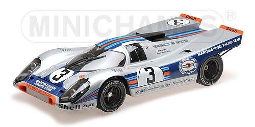 Porsche 917 K Sebring Winner 1971  3 Larrousse Elford Martini RA Minichamps 1 12