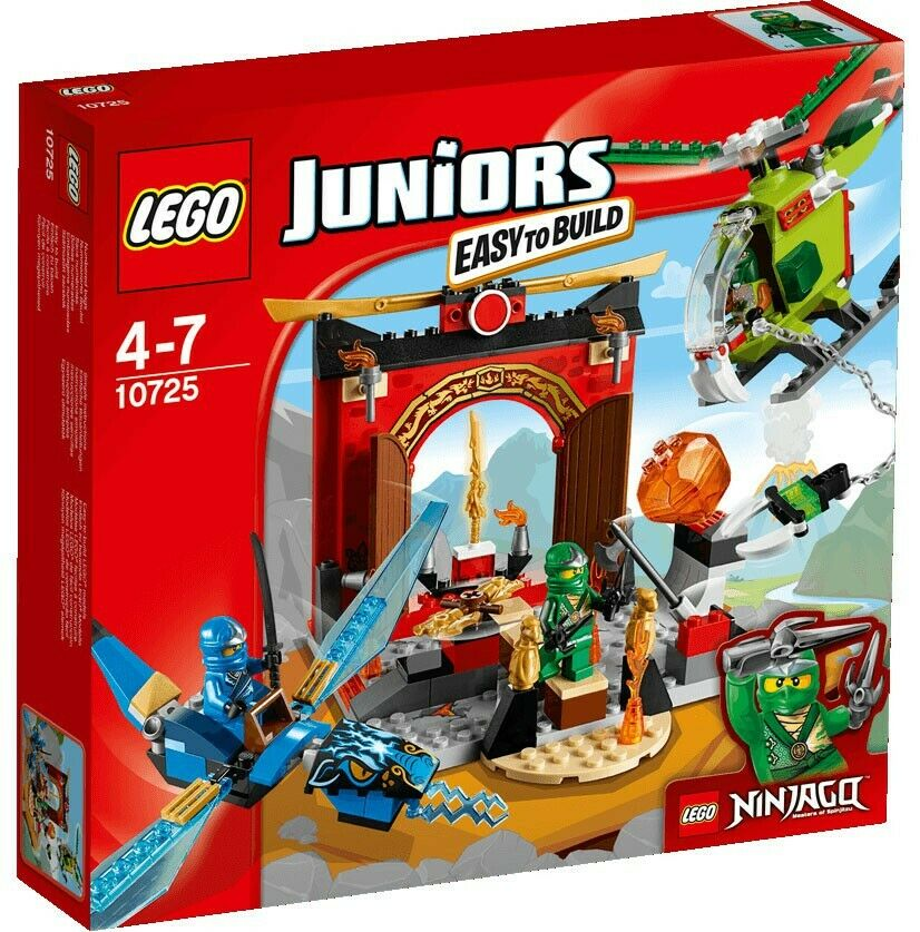 LEGO  Ninjago Juniors Lost Temple Set  10725  sconto online