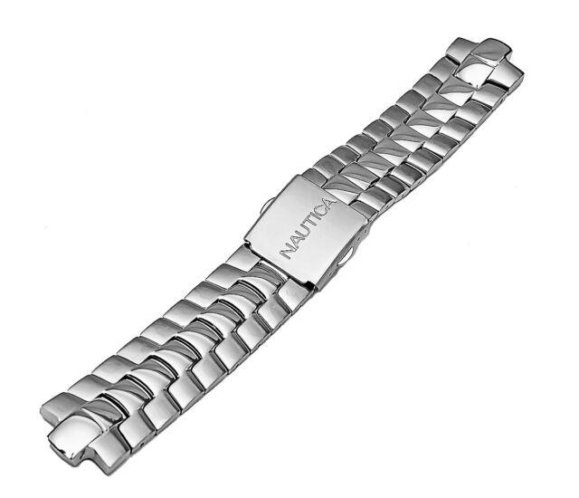 Nautica Men S N10074 Basic Stainless Steel Original Replacement Watch Bracelet