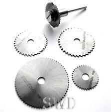 6pc HSS mini scie perceuse ensemble de disques artisanat bricolage couper sol