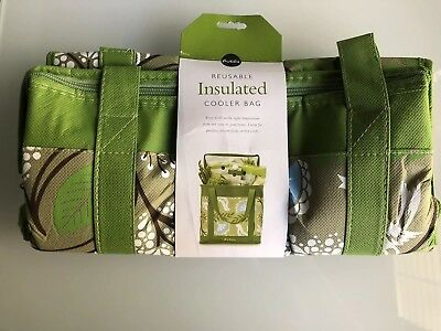 Reusable Insulated Hot Grocery Cooler Tote Bag Thermal Foldable Ping Ebay