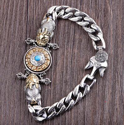 F03 Armband Sterling Silber 925 Pixiu Fabelwesen Tierkreiszeichen Länge 18 Cm MöChten Sie Einheimische Chinesische Produkte Kaufen?
