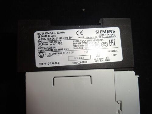 Neu OVP Siemens Stromerfassungsmodul 3UF7110-1AA00-0