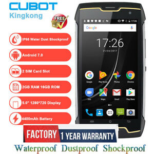 Original-2019-Cubot-Kingkong-Outdoor-Handy-4400mAh-IP68-Wasserdicht-16GB-SCHWARZ