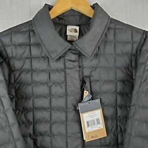 NEW THE NORTH FACE Size XL Womens Thermoball Snap Quilted Poly Jacket Coat NWT