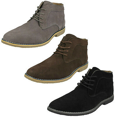 WHOLESALE Mens Suede Leather Ankle