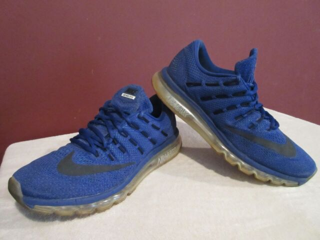 Size 11.5 - Nike Air Max 2016 Deep Royal Blue Black