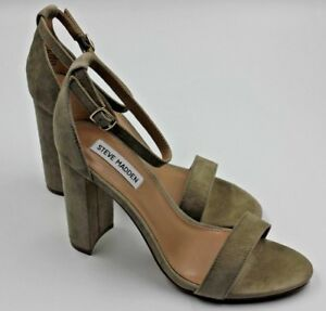 ab6f97a05e9 STEVE MADDEN Carrson Women s Suede Heel - Taupe - Size 8.5 - NEW ...