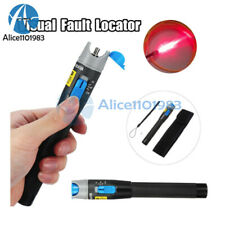 5102030mw Red Light Inspect Visual Fault Locator Fiber Optic Cable Tester New