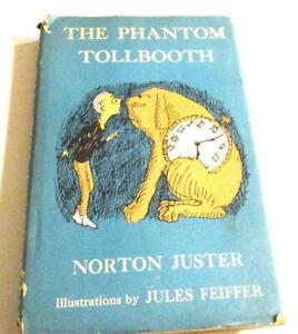The Phantom Tollbooth - 1967-HARDCOVER/DJ-ILLUS-Juster-Jules Feiffer illustrator