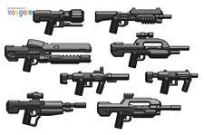 Custom BRICKARMS  Waffen Set 8 Waffen für LEGO® Figuren Halo