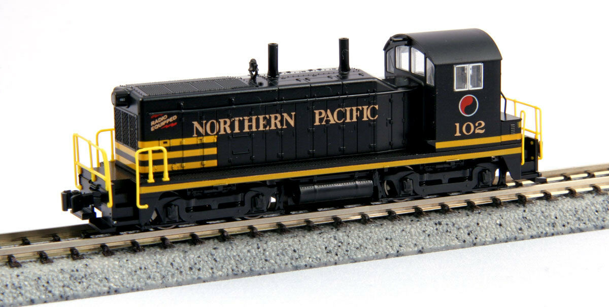 KATO 1764371 N Scale EMD NW2 Northern Pacific Switcher  102 176-4371 - NEW