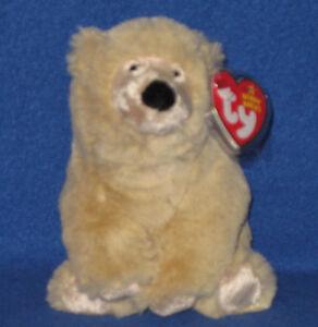TY PARKA the POLAR BEAR BEANIE BABY - MINT with MINT TAGS 8421404117 ... 88bdd3d1a01d