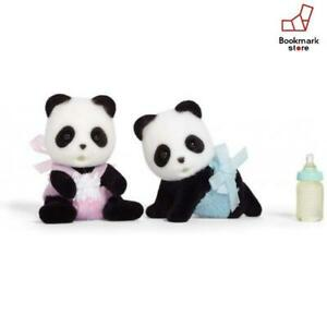 New-Sylvanian-Families-Wilder-Panda-Twin-Baby-F-S-from-Japan