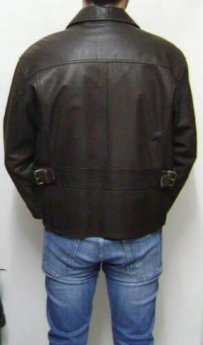 For Cappotto Di Uomo Man Soprabito Leather Pelle Giubbotto Giaccone Jack Giacca Yqw6ff