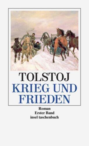 1 von 1 - Krieg und Frieden: Roman (insel taschenbuch) von Tolstoj, Lew