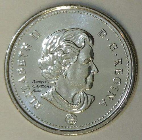 2007 to 2012 Canada 25 Cents BU