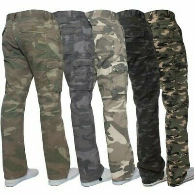 "36/"" Neuf Style Militaire Desert Storm Tri Couleur Camouflage Pantalon Combat Taille 32/"""