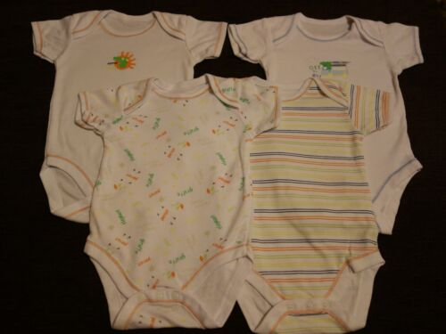 Boys/' Unisex Girls/' 3 Pack Bodysuits 3-6 Months NEW out of Pack