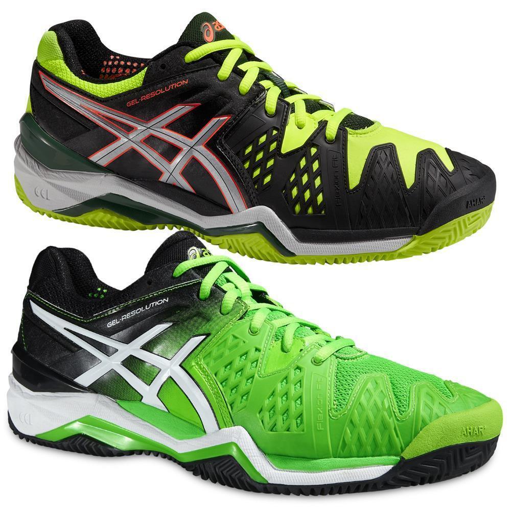Asic gel degli risoluzione 6 clay corte degli gel uomini le scarpe da tennis 78a60c