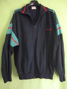 Détails sur Veste Adidas Ventex Crylor 80'S Marine verte Acrylique Vintage Jacket 186 XL
