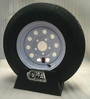 13 Boat Trailer Stock Utility White Mod Trailer Wheels Radial Ply Tires