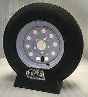 13 Boat Trailer Stock Utility White Mod Trailer Wheels Radial Ply Tires